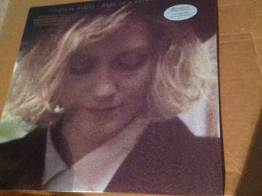 Virginia Astley - Hope In A Darkened Heart Geffen Records Hyper Sticker Front Cover Promo Vinyl LP NM