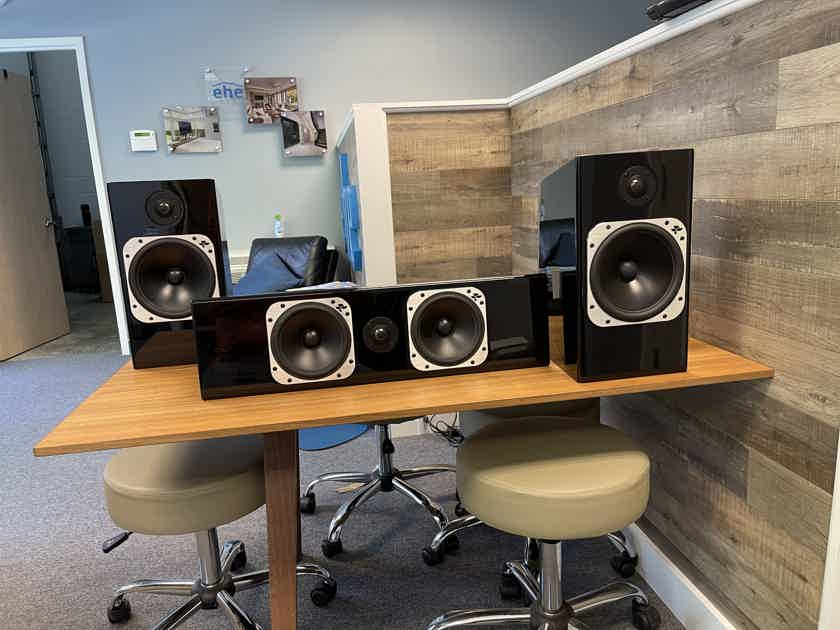 Totem Acoustic Element Fire and Wood Center Channel