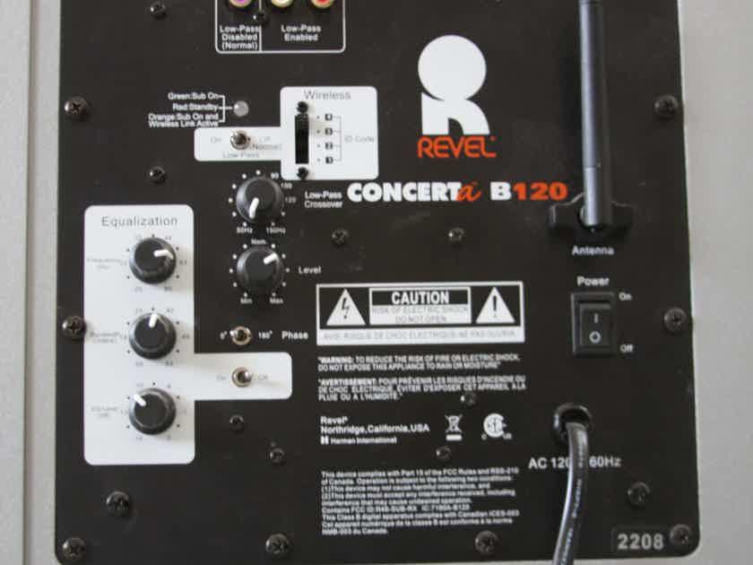 Revel Concerta B-120 with Wireless Option