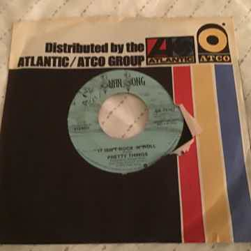 Pretty Things Swan Song Records Promo Mono/Stereo Single  It Isn't Rock 'No Roll