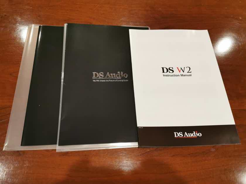 DS Audio DS-W2 Phono System (Cartridge and Phono Equalizer)