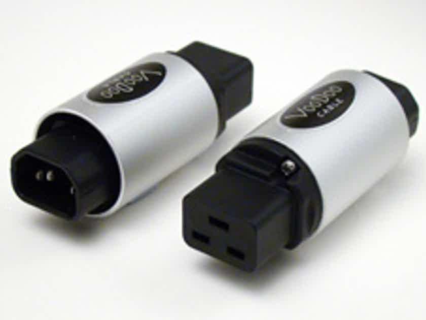 VooDoo Premium Silver IEC Adapter