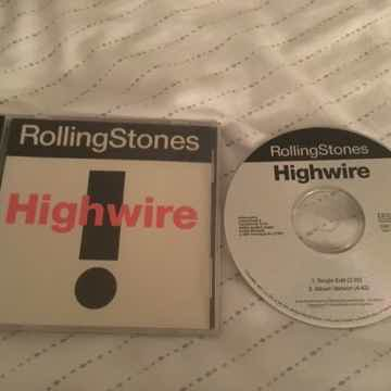 The Rolling Stones Promo Compact Disc  Highwire