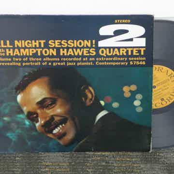 """Hampton Hawes Quartet - """"All Night Session 2"""" Contempor..."""