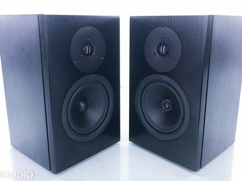 Linn Tukan Bookshelf Speakers Black Pair (14925)
