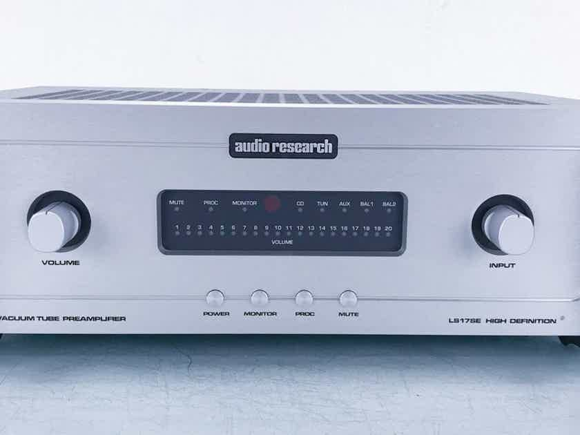 Audio Research LS17SE Hybrid Tube Stereo Preamplifier LS-17SE (15476)