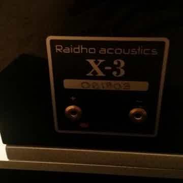 Raidho X-3 Black