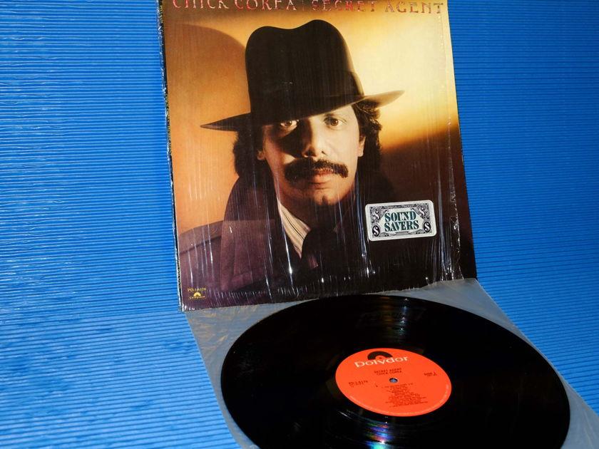"""CHICK COREA  - """"Secret Agent"""" - Polygram 1978  1st pressing no B/C"""