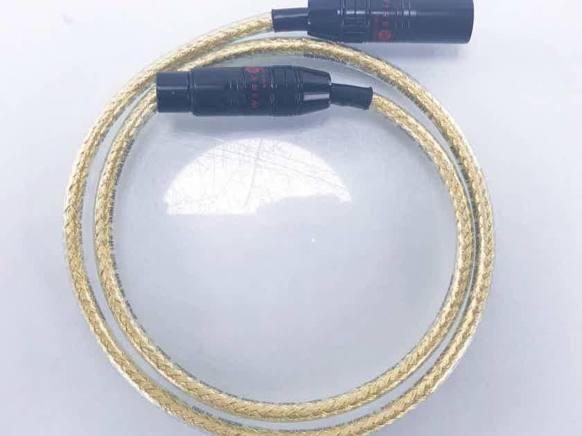 Wireworld Gold Starlight 5 XLR Digital Cable Single 1m AES/EBU Interconnect (13886)