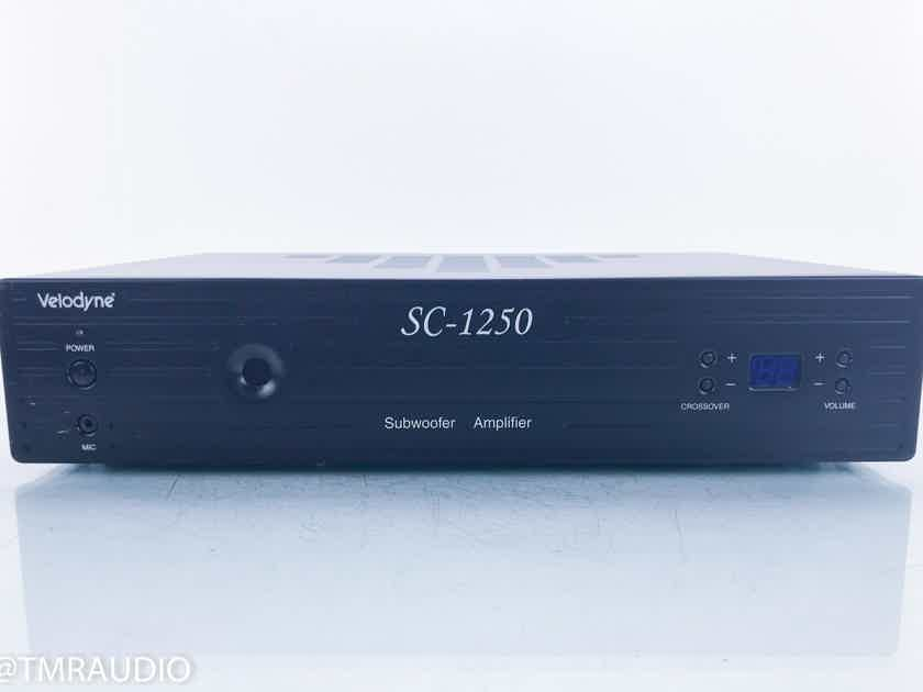 Velodyne SC-1250 Subwoofer Amplifier SubContractor Series (16182)