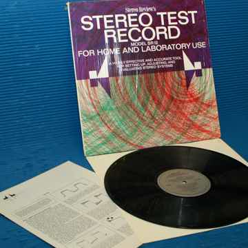 "STEREO REVIEW  - ""Stereo Test Record"" - Model SR-12  1969"