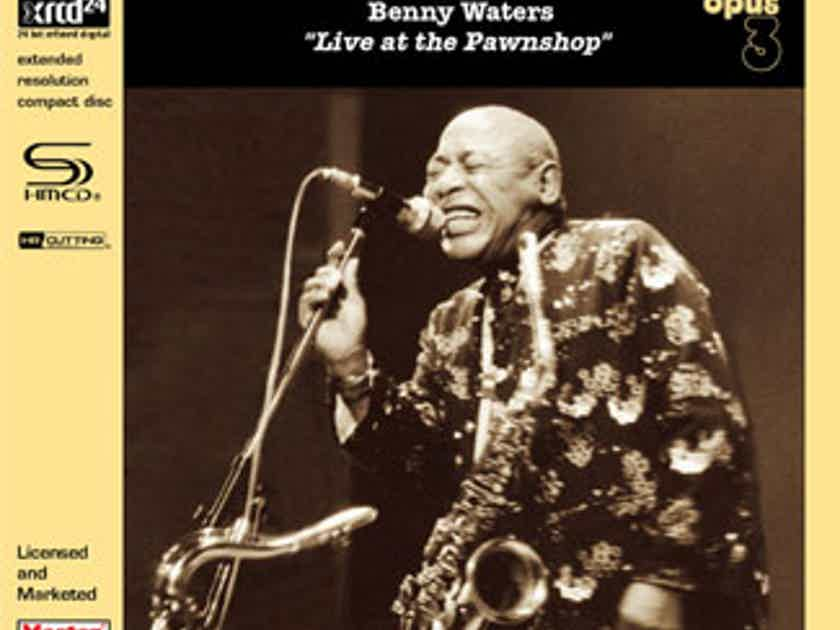 Benny Waters  Live At The Pawnshop-Opus3 SHM-XRCD24