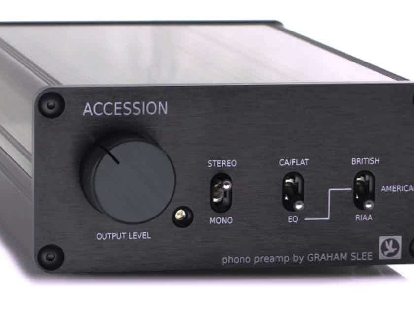 Graham Slee Accession M or C Phono  w/ PSU1  **BACK TO SCHOOL/WORK SPECIAL**