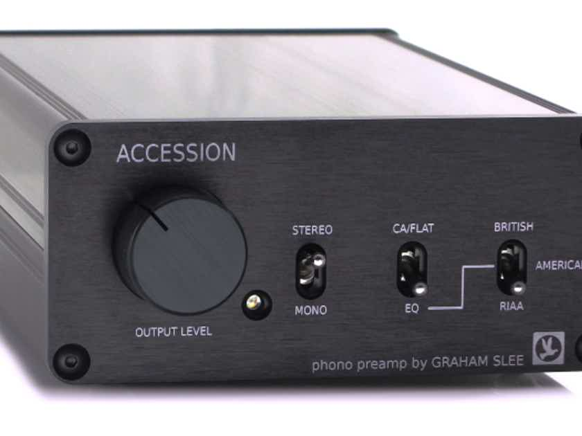 Graham Slee Accession M or C Phono  w/ PSU1 * SEALED IN THE BOX SPECIALS *