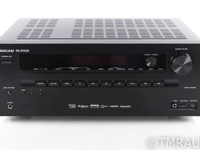 Tascam PA-R100 5.1 Channel Home Theater Receiver; PAR100; Remote (20384)
