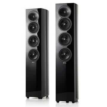 Floorstanding Loudspeakers (High Gloss Black):