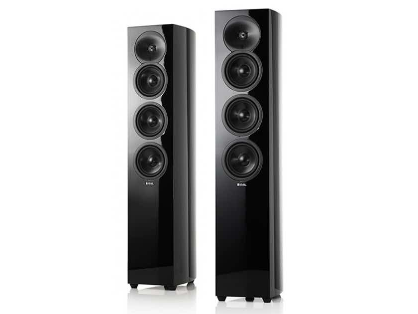 REVEL Concerta2 F35 Floorstanding Loudspeakers (High Gloss Black): Excellent DEMO; Full Warranty; 50% Off; Free Shipping