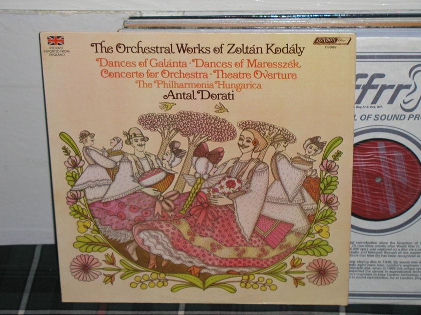 Dorati/TPH - Orchestral Kodaly London ffrr uk decca press