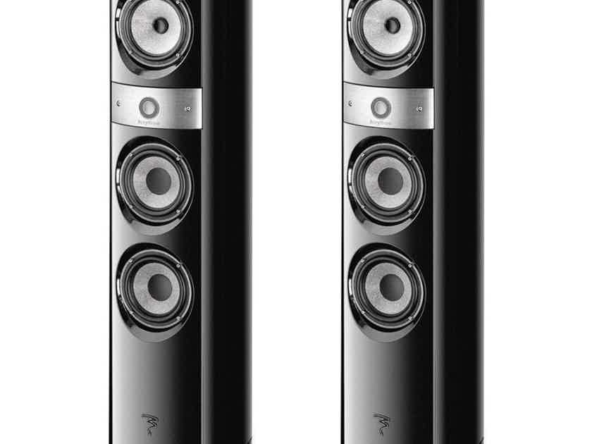 Focal Electra 1028 Be II Floor Speakers Gloss Black