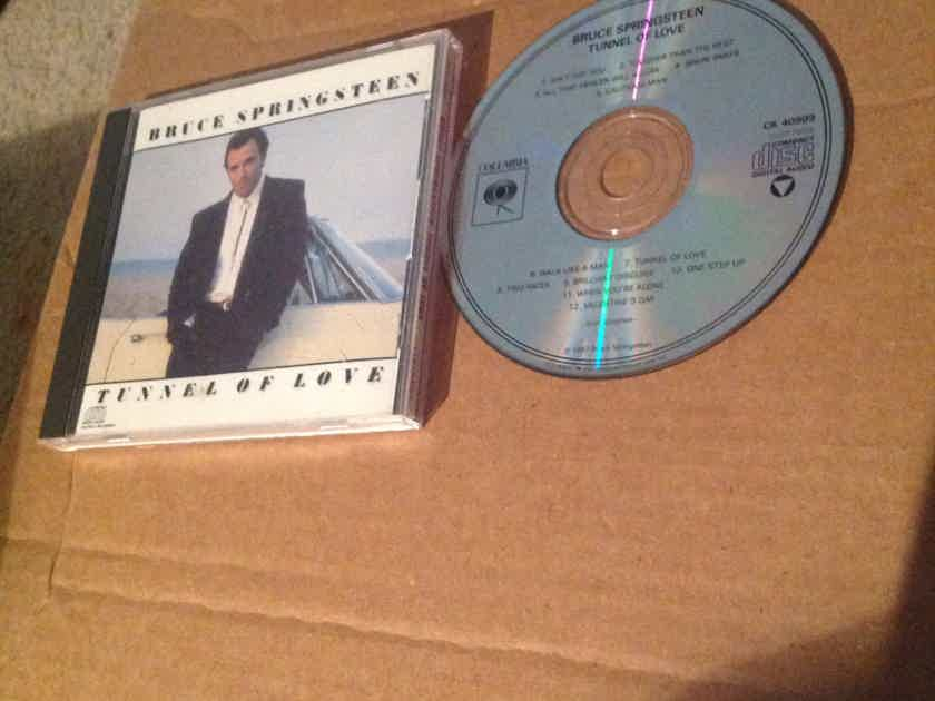 Bruce Springsteen  - Tunnel Of Love Not Remastered Columbia Records Compact Disc