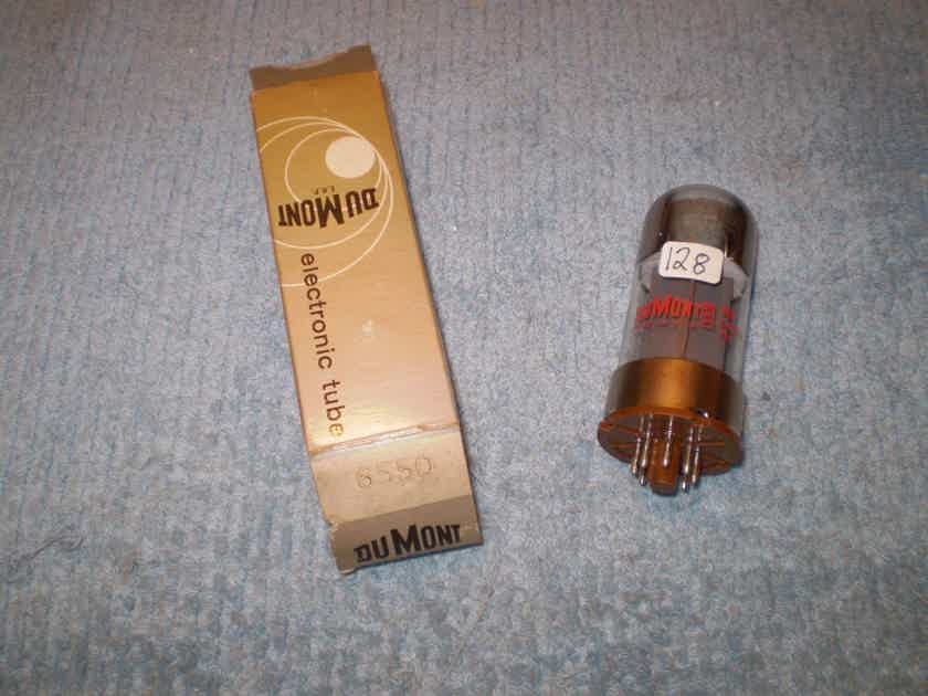 1 new in the box sylvania 6550 tube