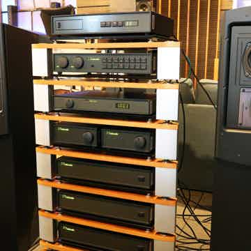 Naim Audio Olive Green Curated System