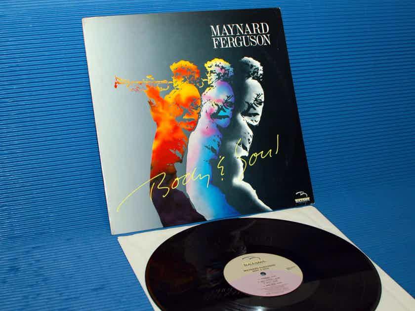"MAYNARD FERGUSON   - ""Body & Soul"" - Blackhawk 1986"