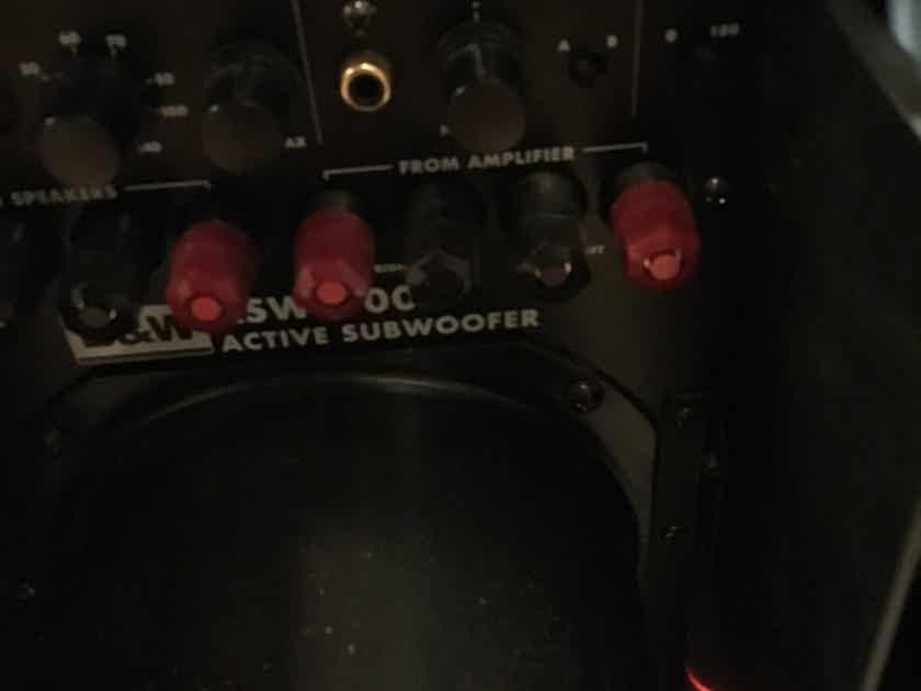 """B&W (Bowers & Wilkins) ASW-4000 Massive 15"""" Sub  450W"""