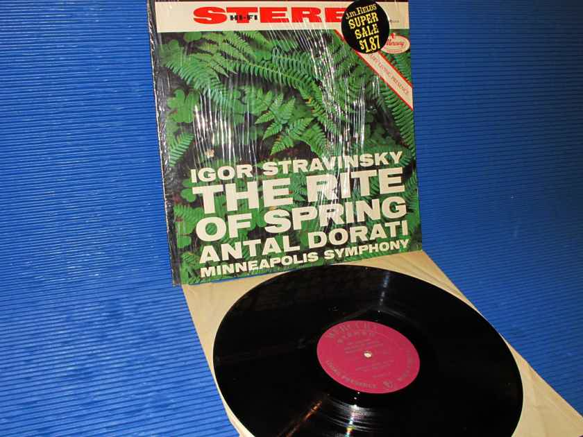 """STRAVINSKY / Dorati   - """"The Rite of Spring"""" -  Mercury Living Presence 1961"""