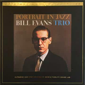 Bill Evans-Portrait In Jazz-Mobile Fidelity's Premier U...