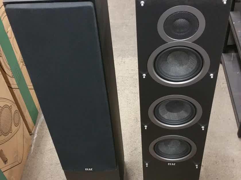 Elac Debut F5 floorstanding speakers, black