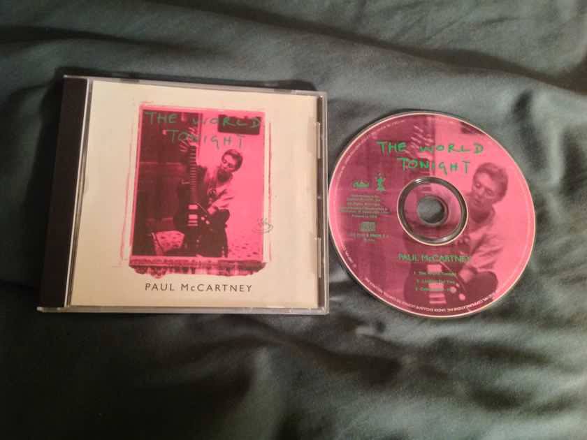 Paul McCartney  The World Tonight Capitol Records EP