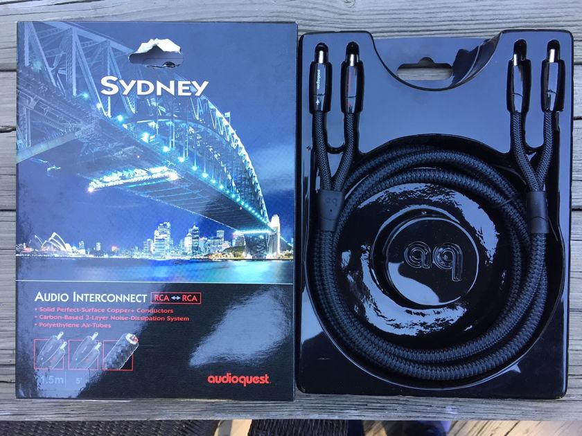 AudioQuest Sydney RCA Interconnect 1.5m