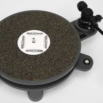 GEM (George E. Merrill) Dandy PolyTable Turntable w/ TA...