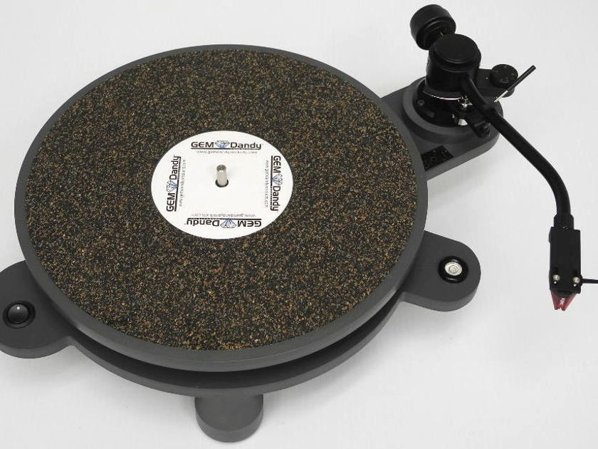 GEM (George E. Merrill) Dandy PolyTable Turntable w/ SA-750D Tonearm