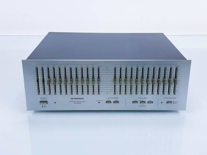 Pioneer SG-9800 Vintage 12-Band Graphic Equalizer EQ; AS-IS (Bad Channel) (16760)