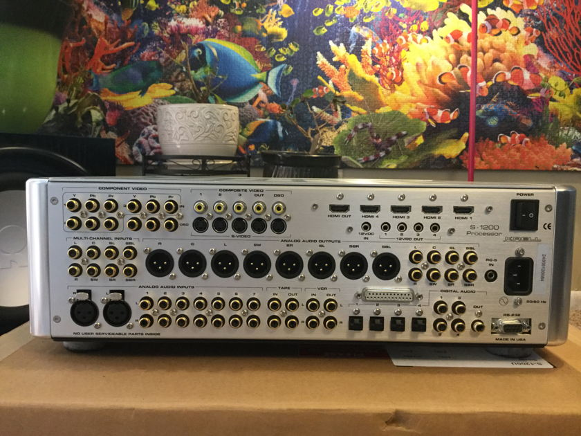 Krell S-1200U Audiophile 7.1 CH Surround Sound Preamp/Processors Brand New