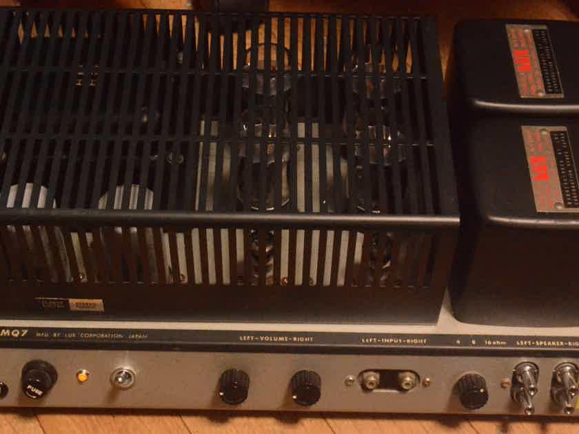 60s year Luxman  KMQ-7 stereo tube amplifier