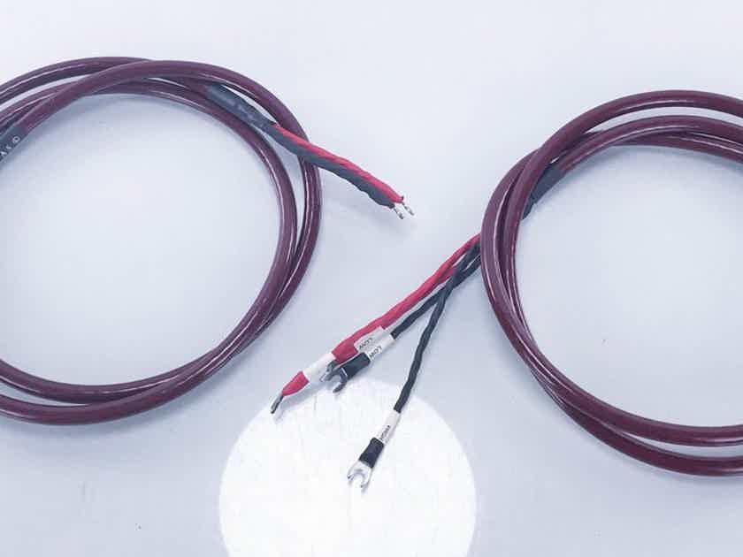 Cardas Golden Cross Bi-Wire Speaker Cables 2.5m Burgundy Pair (14343)