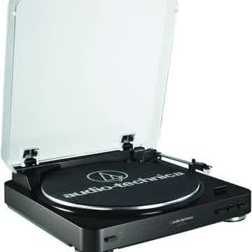 AT-LP60BK Stereo Turntable