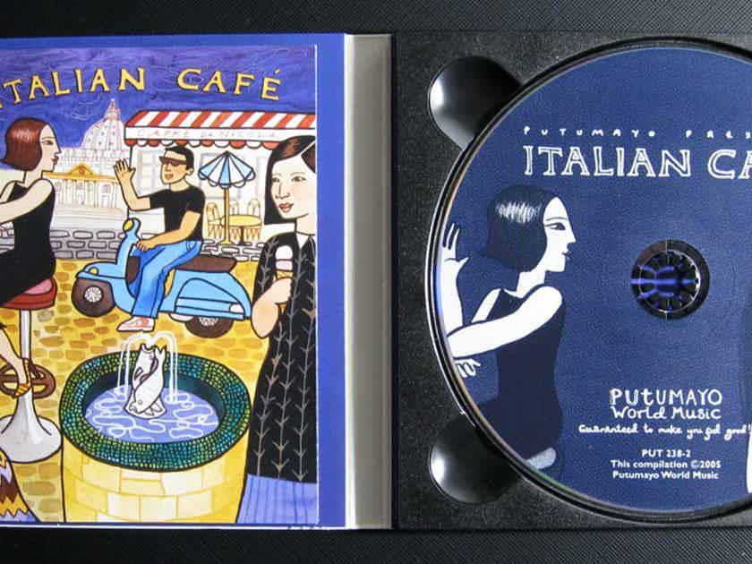 Various Artists - Italian Café  - 2005 STARBUCKS / Putumayo World Music PUT 238-2