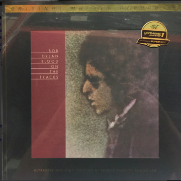 "Bob Dylan ""Blood on the Tracks"" MFSL Ultradisc One-Step..."