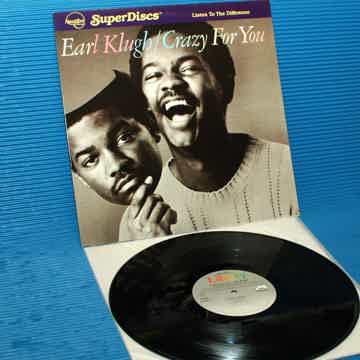"EARL KLUGH  - ""Crazy For You"" -  Nautilus Super Disc 1982"