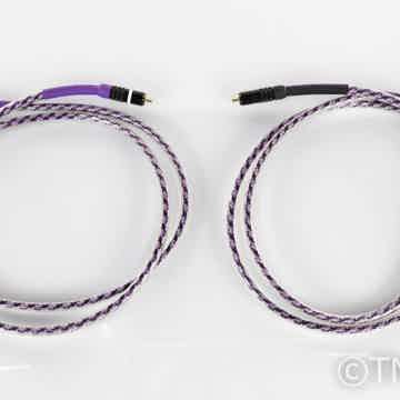 Solo Crystal Oval RCA Cables