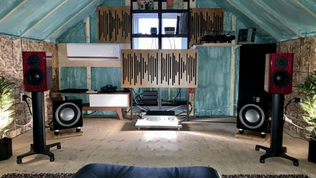 Dynaudio, Belles, Audiovector solid state heaven