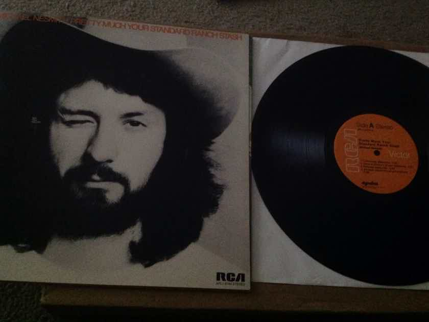 Michael Nesmith - Pretty Much Your Standard Ranch Stash RCA Records Orange Label Dynaflex Vinyl LP NM