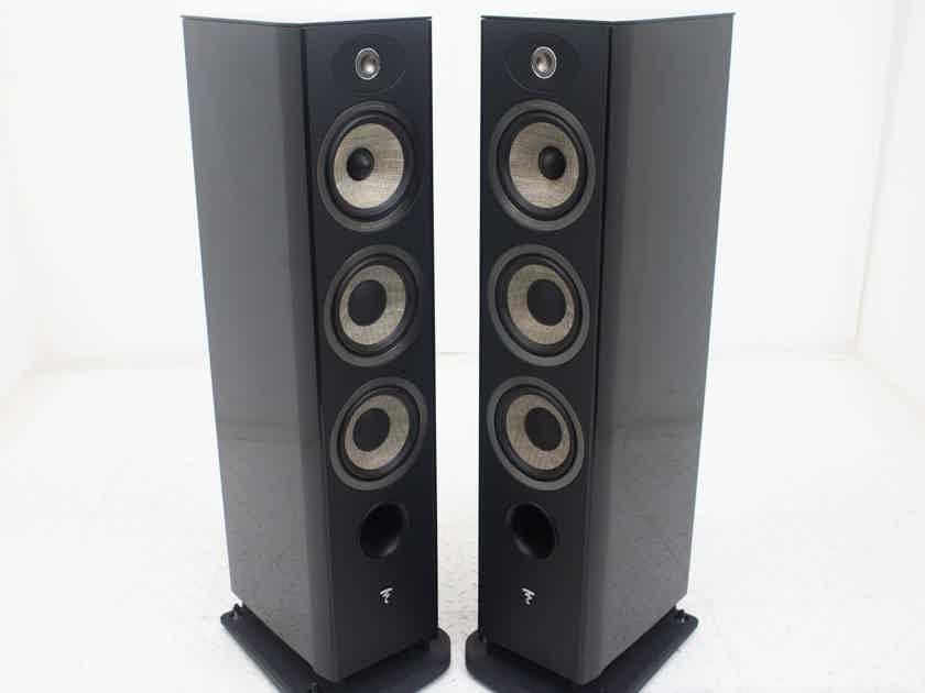 Focal Aria 926 Floorstanding Speakers; Gloss Black Pair (18627)
