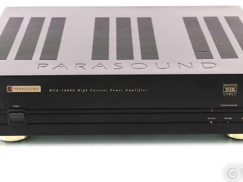 Parasound HCA-1000A Stereo / Mono Power Amplifier (27759)