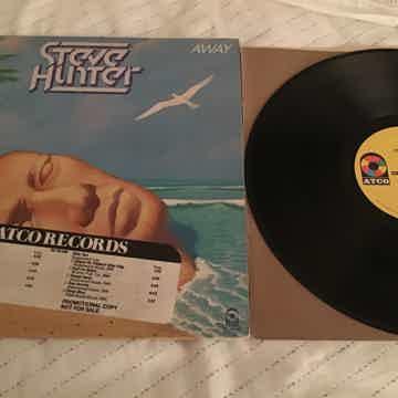 Steve Hunter  Swept Away Atco Records Promo LP NM