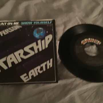 Jefferson Starship  Count On Me 45 With Picture Sleeve ...